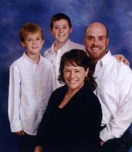 Josh Clark and family